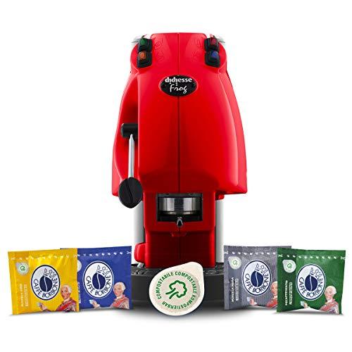 Didiesse Frog Revolution Magica Emozione pack (Macchina da Caffè a Cialde + 60 capsule), 650 W,...