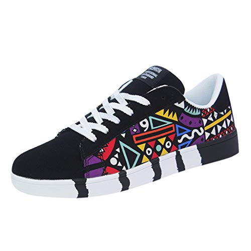 iHENGH Scarpa Ginnastica Uomo Moda Casual Estate Shoes Men Outdoor 2019 Lace-Up Breathable Sneakersscarpe Running Sport Respirante Pu Francesina Pantofola Vintage Rete Ragazzo