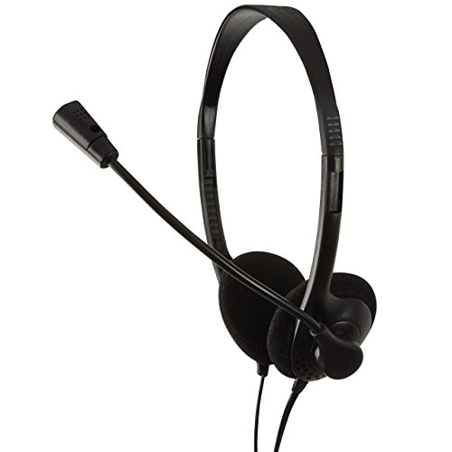 Logilink HS0002 Cuffia Audio, 3.5 mm, Nero