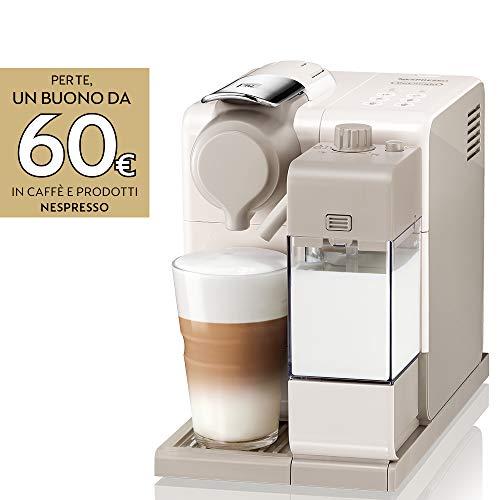 De'Longhi Nespresso Lattissima Touch Animation EN560.W Macchina da caffè Espresso, Porzionato, Chiuso, 1400 W, 1 Cups, Plastica, Beige