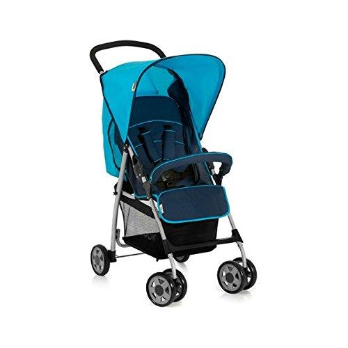 Hauck 17121 Sport Disney Passeggino, con seduta in posizione distesa, pieghevole, per bambini a partire da 0+ mesi fino a 15 kg, Blu (Moonlight Capri)