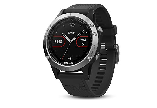 Garmin Fenix 5, Orologio GPS multisport con navigazione esterna e frequenza cardiaca basata sul...