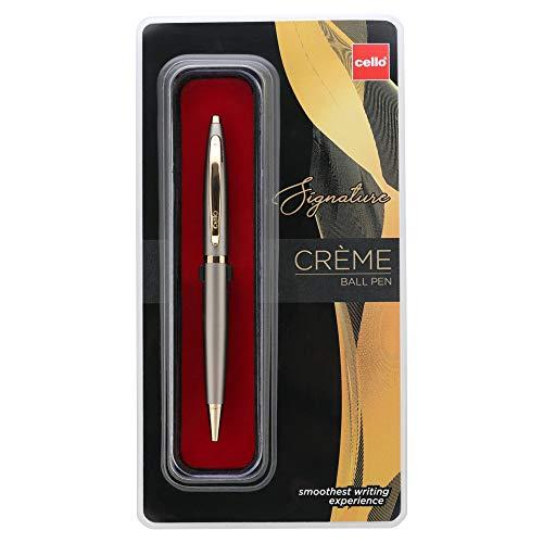 Cello Signature Creme Ivory Ball Pen