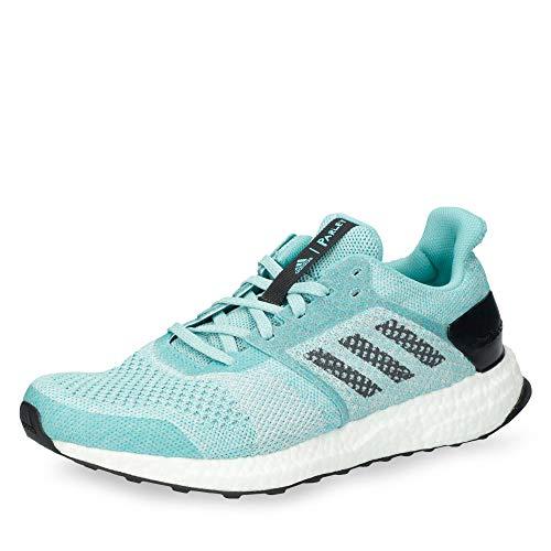 adidas Ultraboost St W Parley, Zapatillas de Deporte para Mujer, Azul (Espazu/Ftwbla/Pertiz 000), 38 EU