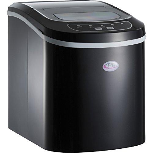 TecTake Machine à glaçons Appareil de préparation de Glace - diverses Couleurs au Choix - (Noir   no. 400476)