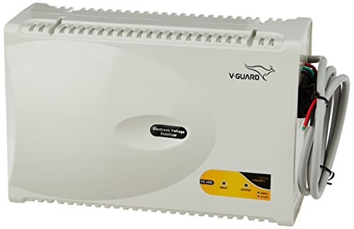 V-Guard VG 400 for 1.5 Ton A.C (170V to 270V) Voltage Stabilizer (Grey)