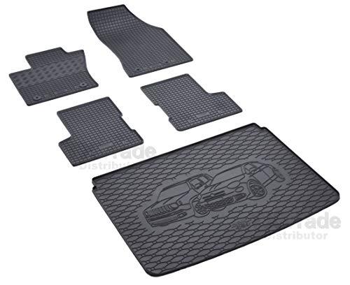 Set di tappetini in Gomma e Vasca per Bagagliaio – RIGUM-55874