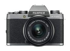 Fujifilm X-T100 - Cámara digital, color plata + XC15-45mm F3.5-5.6 OIS PZ