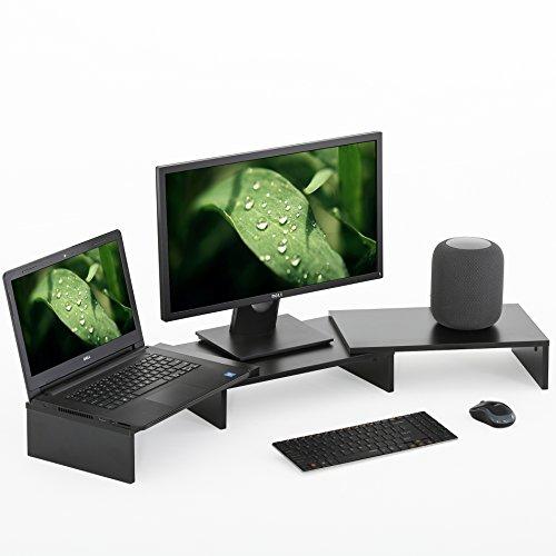 FITUEYES Supporto Monitor, Supporto per Computer Portatile, Supporto da Scrivania, Supporto da...