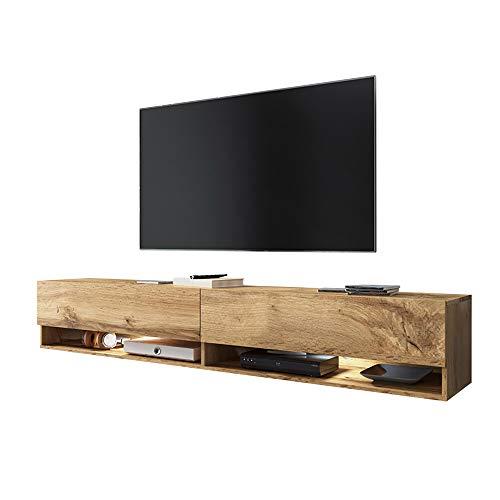 Selsey WANDER - Mobile TV Sospeso/ Porta TV Stile Moderno/ Tavolino TV per Soggiorno 180 cm/ Colore...