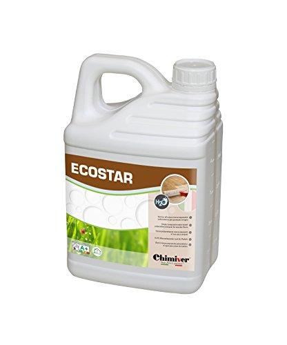 Chimiver - ECOSTAR VERNICE | Vernice all'acqua monocomponente per legno e parquet. (Super opaca)