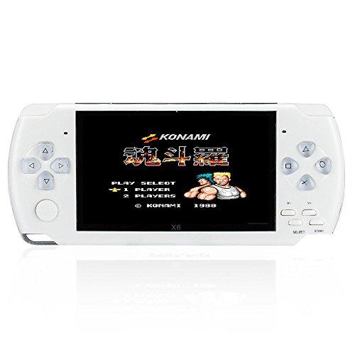 console di gioco portatile di 8GB, 4,3pollici con 1000giochi classici GBA, Video di sostegno e...