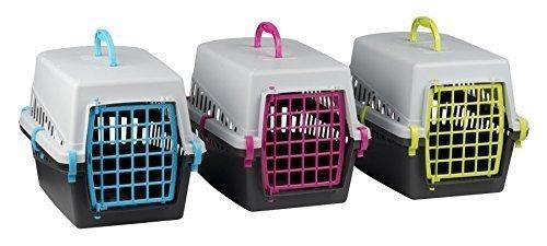 Shine, trasportino per Animali Domestici, Cuccia Pieghevole da Viaggio per Cani, Gatti e Conigli,...