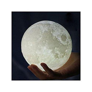 Mond-Lampe-NachtlampeGoldbeing-3D-Mond-Lampe-Nachtlicht-LED-Nacht-Tischlampe-Kinderzimmerlampe-Moderne-Skulptur-3D-Druck-aus-PLA-Aufladbar-Nightlight-Geschenk-fr-Freund-Weihnachten-Geburtstag