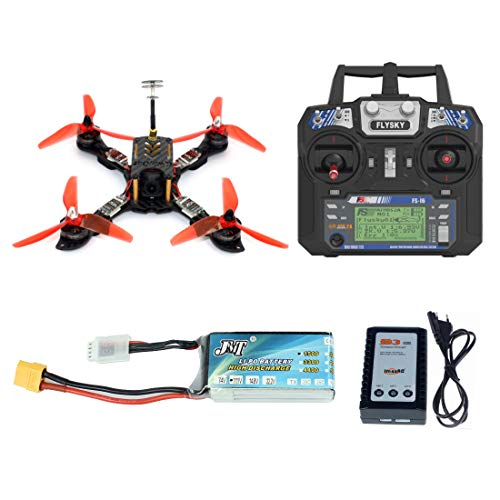 GEHOO GH 210mm RTF FPV Quadcopter Racing Drone Mini Racer con Flysky FS I6 Trasmettitore Omnibus F4...