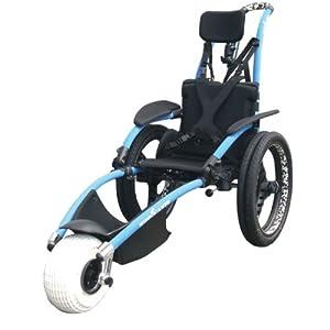 Hippocampe silla de ruedas para playa