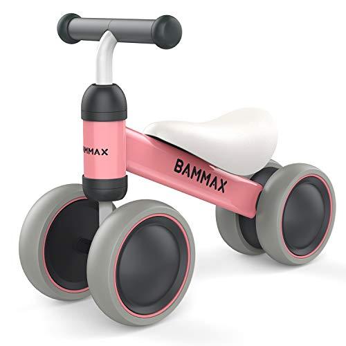 Bammax Bicicletta Senza Pedali Bicicletta Equilibrio per Bambini 1-2 Anni (10-24 Mesi) Triciclo Baby...