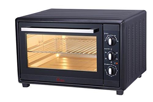 Ardes 60 L AR6260B Forno Elettrico Ventilato Gustavo 60 Litri con Luce Interna 6 Funzioni Cottura...