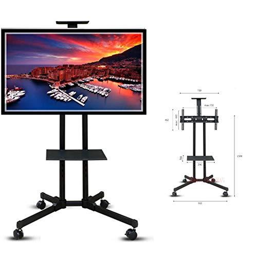 Xue Piano TV Stand Mount, Mobili TV A Schermo Piatto Stand E Console di Intrattenimento, con Ruote...