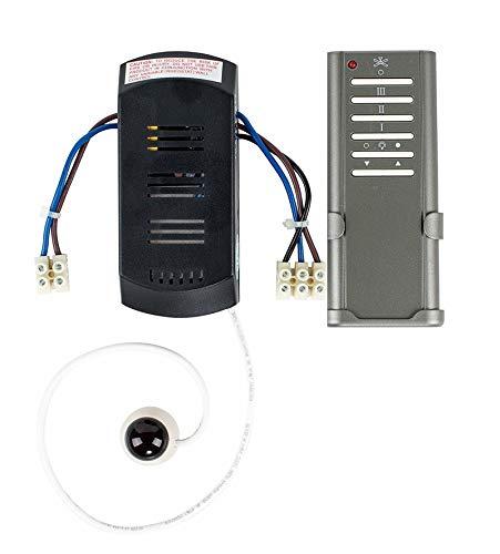 MiniSun - Kit completo di telecomando per ventilatore - con 3 livelli di velocità e tasto della...