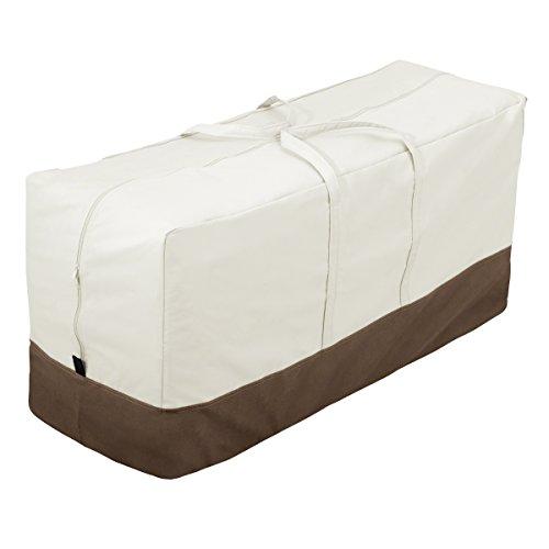 AmazonBasics - Sacca di protezione per cuscini per sedie/panche da giardino