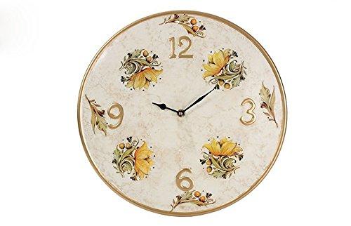 Orologio da parete lylium in ceramica diam. 38cm