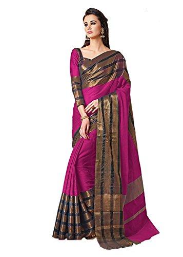 Saree..(Raa retail women heavy cotton silk party wear saree)
