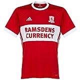 2017-2018 Middlesbrough Adidas Home Football Shirt