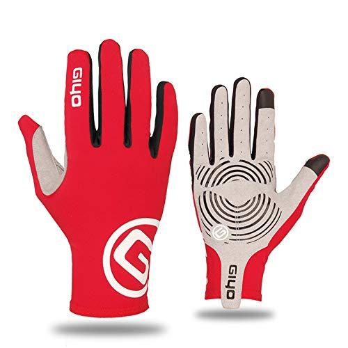 YHONG-gloves Guantes de Ciclismo para Hombres y Mujeres, Guantes Largos y Delgados, Equipos de Bicicleta de montaña Autumn Road