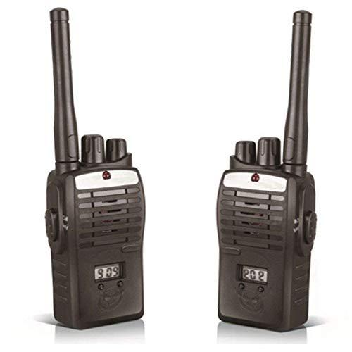 MobSpy Kids Interphone Portable Walkie Talkie Two Way Radio Set for Kids Birthday Gift Present Black Color 1 Pair/2 Pcs