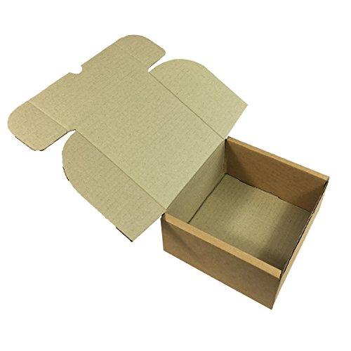 Scatole Di Cartone 150 X 150 X 70 Mm Con Coperchio Facili