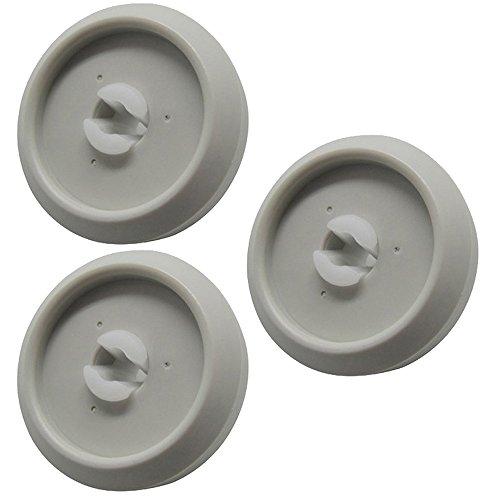 Miele-Rondella cestello inferiore lavastoviglie & asse (confezione da 3)