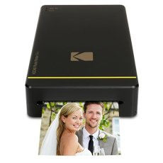 Kodak PM-210 Pintar por sublimación WiFi Impresora de Foto - Impresora fotográfica (Pintar por sublimación, Cian, Magenta, Amarillo, 16,7 M, Micro-USB, Negro, 76,1 mm)