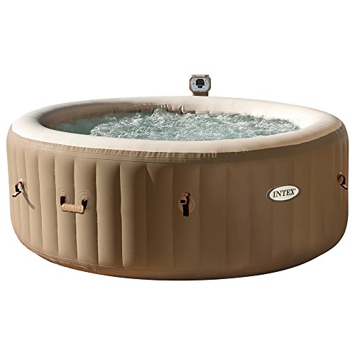 Intex 28404 Pure Spa Bubble Therapy con Pompa, Riscaldatore e Sistema Purificazione Acqua, 196x 71...
