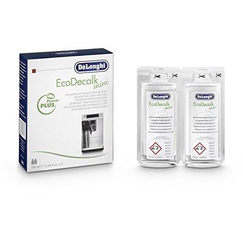 Delonghi Lot de 4 doses de 100ML de détartrant Naturel pour Machine à café