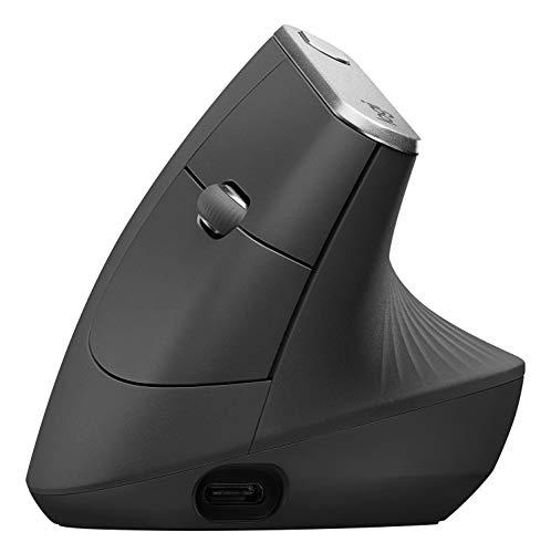 Logitech MX Vertical Ratón ergonómico avanzado para Reducir el Esfuerzo Muscular