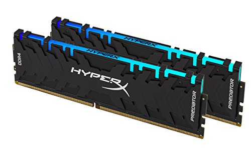 HyperX Predator HX432C16PB3AK2/16 Kit Memoria 16 GB (2x8 GB), DDR4, RGB, 3200 MHz, CL16, DIMM