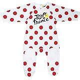 Le Tour de France Official Collection Baby Boy's Best Climber Bodysuit, white