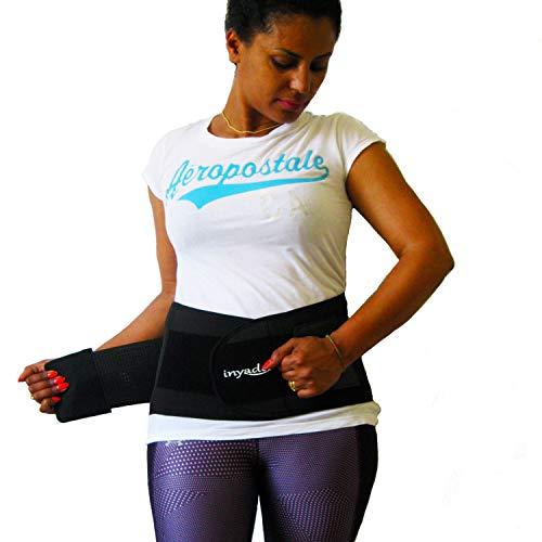 Fascia Lombare Supporto schiena, Cintura Lombare Posturale di Sostegno per la Prevenzione e...