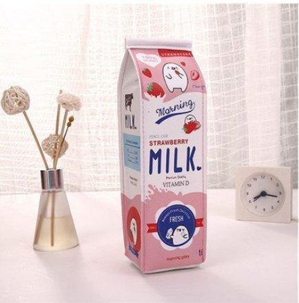 Leisial La Borsa del Latte a Forma di Matita di Forma Cute e Pratico Ragazzi e Ragazze Possono...