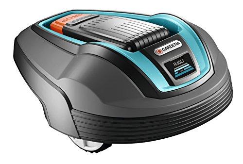 Gardena 4071-60 Robot Tosaerba Set Smart, R-Model, fino a 400 m²