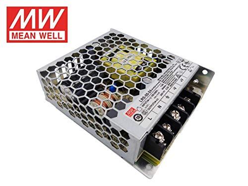 Fuente de alimentacion 50W 24V 2.2A Mean Well Enclosed LRS-50-24 Power Supply AC/DC