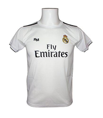 Camiseta Adulto - Personalizable - Primera Equipación Replica Original Real Madrid 2018/2019 (L)