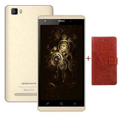 Moviles Libres Baratos,9Pcs 16GB ROM 5.0 Pulgadas Android 7,0 Doble Sim 2800mAh Batería 5MP Cámara Spiphone A10 Pro Smartphone Baratos Libres 3G+
