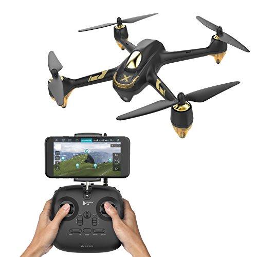 Hubsan X4 Air PRO Droni Quadricotteri GPS Fotocamera 1080P App (H501A+HT011A), Colore