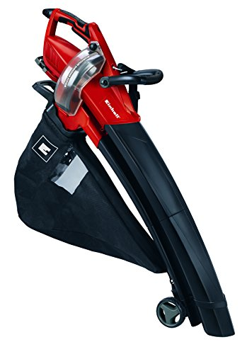 Einhell GE-EL 3000 E - Aspirador soplador triturador (3000 W, 96 dB, 1080 m³/h, 50L) color negro y rojo