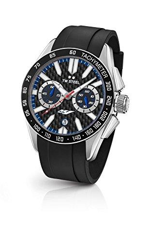 TW Steel Orologio Cronografo Quarzo Unisex con Cinturino in Gomma GS1