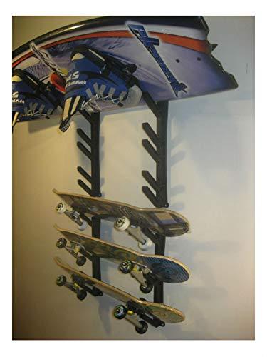 Sci Snowboard Skateboard Sport Wakeboard Storage Display Holder Wall Mount Rack