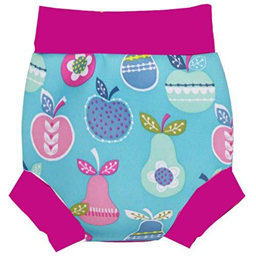 ADGSSJ,Infant Children Leakproof Swimming Nappies Newborn Baby High Waist Swimming Trunks Baby Boys Girls Cartoon Printed Swim Diapers,03,M