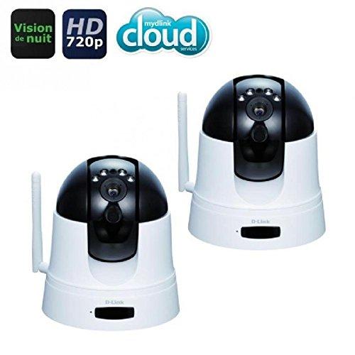 mydlink DCS-5222L wireless network motorised IP camera - day night